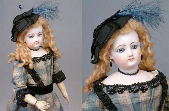 """Otherworldly 19"""" Size 5 Jumeau Fashion Lady Mlle Michelle Antique Doll Flawless 
