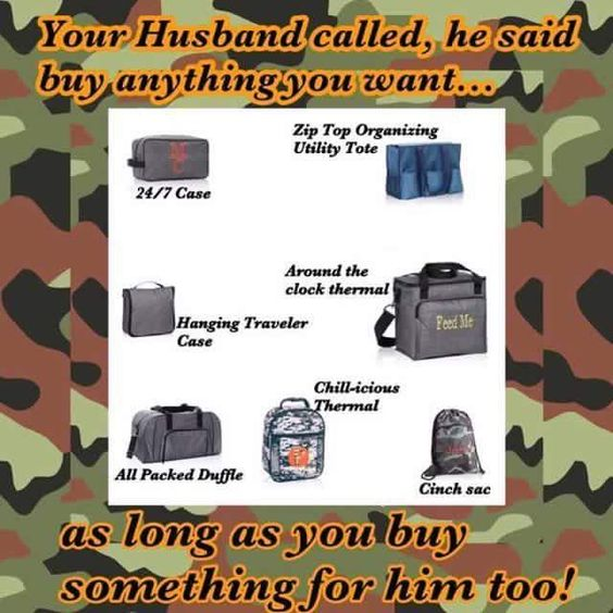 Shop for the man in your life!   Www.mythirtyone.com/aprilnaylor