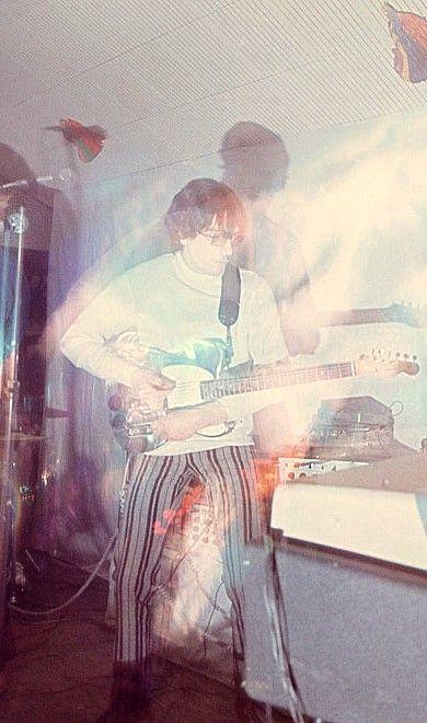 Syd Barrett at UFO Club in London.