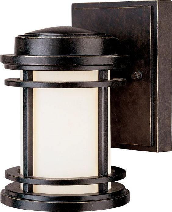 Dolan Designs 9101 Craftsman Mission 1 Light Outdoor Wall Sconce