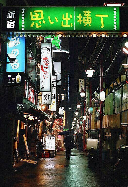 Omoide Yokocho (Memory bystreet) 1-chome Nishi-shinjuku / 思い出横丁 西新宿一丁目
