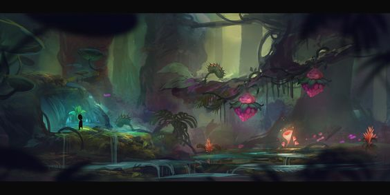 ArtStation - Rad Rodgers - Jungle concept art, Florian Coudray