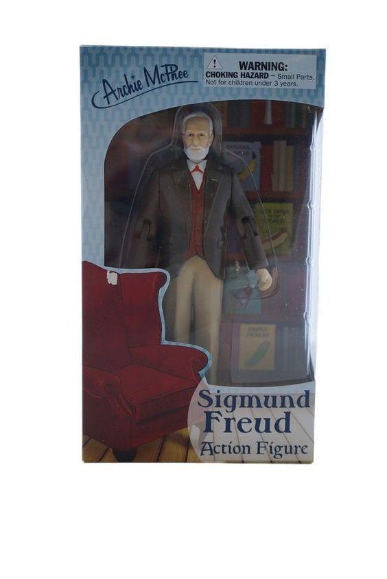 Sigmund Freud Action-Figur Sammlerfigur von Accoutrements NEU OVP