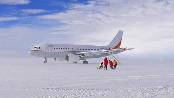 Scheduled flights to Antarctica are here - fly an A319 to Wilkins Runway and more options to see Anartica - http://www.mightytravels.com/2016/04/scheduled-flights-to-antarctica-are-here-fly-an-a319-to-wilkins-runway-and-more-options-to-see-anartica/