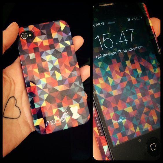 Que tal dar uma animadinha no seu celular com capinhas estampadas le modiste? Você ainda pode baixar o fundo de tela para combinar!
