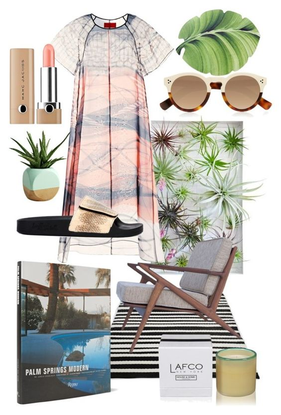 """R+R"" by joy-albao-montgomery ❤ liked on Polyvore featuring interior, interiors, interior design, home, home decor, interior decorating, LAFCO, Rizzoli Publishing, Dot & Bo and Clover Canyon"