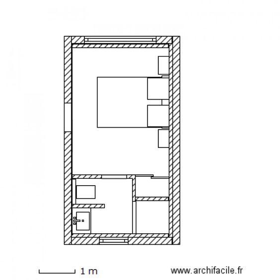 Projet HASCOET Amenagement de garage en chambre. Plan de 0 pièce et 0 m2
