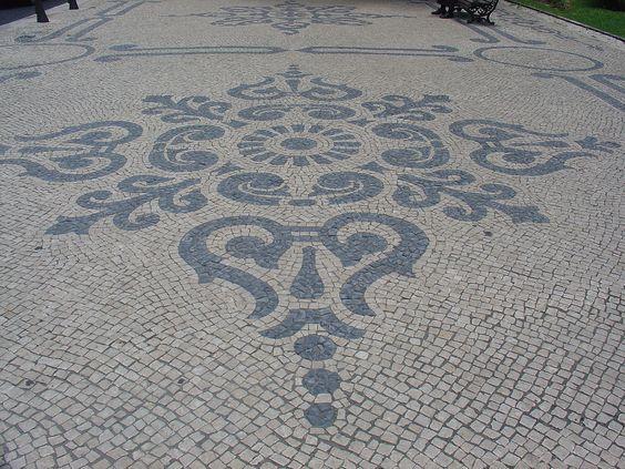 A Calçada Portuguesa,Calçada Portuguesa, em Lisboa. © Wikipedia Yelkrokoyade