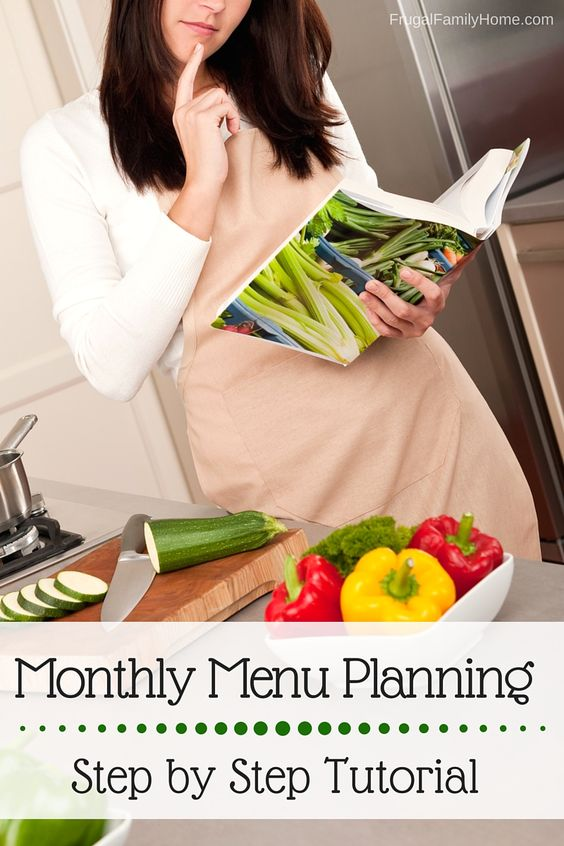 What a great tutorial on getting started with making a menu plan for a month. It was really helpful for me. If you want to get started with planning a menu just once a month this will really help. As a mom this really makes getting dinner on the table for my family so much easier.