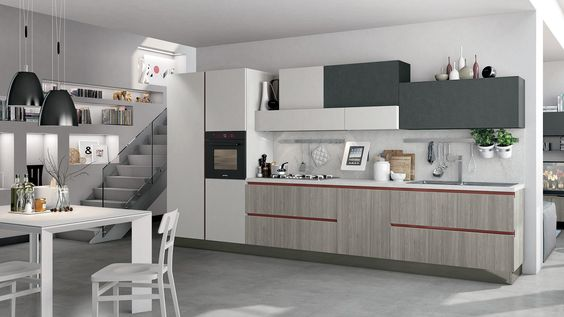 Immagina Neck   Cucine Lube Kitchen Pinterest Kitchen Design   Moderne  Kuchen Design Motus Bilder