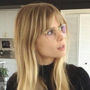 Brille Brille Mitpony Hair Styles Hairstyles With Glasses Face Hair