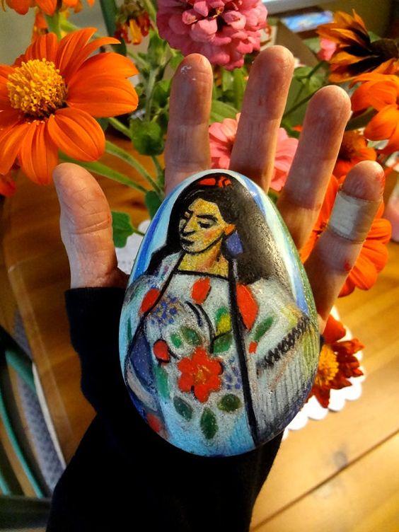 Après Matisse la Manille Shawl par mARThaROCKS sur Etsy