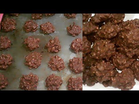 Resep Cookies Beng Beng Coklat Kacang Tanah Youtube Makanan Ringan Sehat Kue Kacang