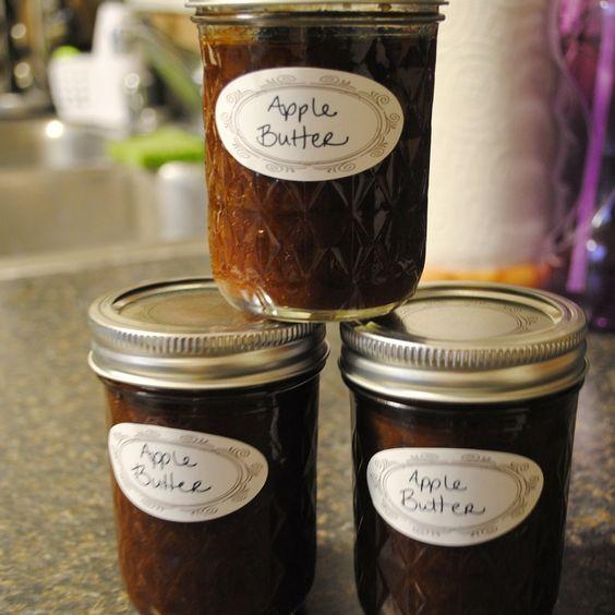 Homemade By Holman: Crock Pot Apple Butter