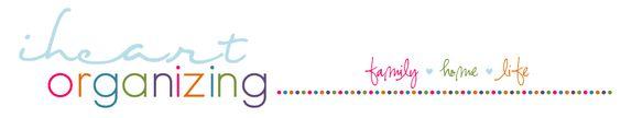 iheart organizing blog
