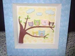 Resultado de imagem para decoração de quarto de bebe azul com decoração de coruja