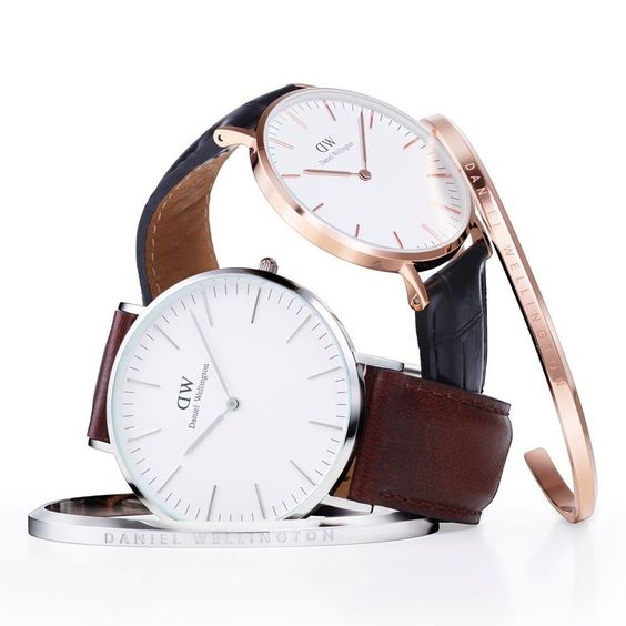 Sleek, Classic innovative designs. Interchangeable straps #danielwellington #watches