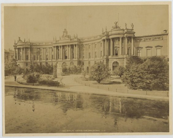 Berlin, Königliche Bibliothek