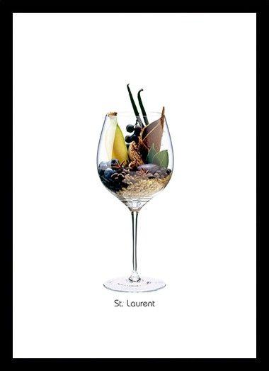 Quadro Poster Vinhos e Sabores St Magdalener - Decor10