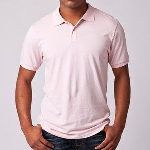 Men's Pink Polo ❤