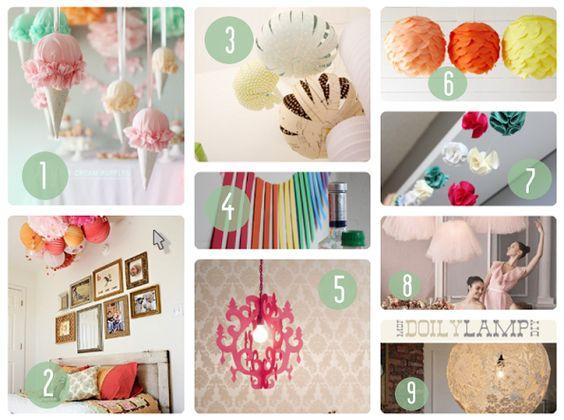 Inspiration DIY : 7 tutos   des idées déco de lanternes, guirlandes et pompons