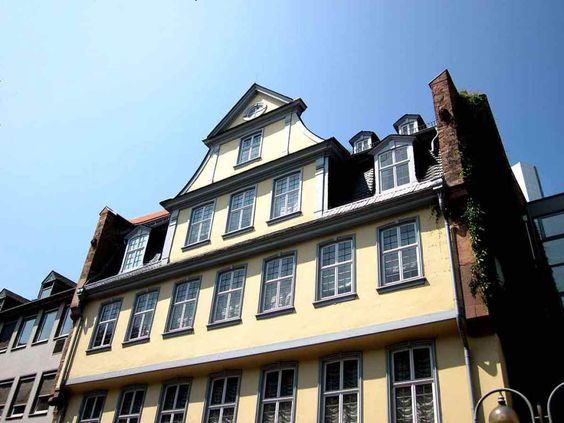 Франфурт. Будинок та Музей Гьоте