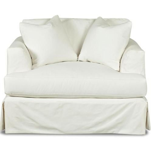 Slipcover Chair In 2020 Slipcovers For Chairs Chair And A Half Slip Covers Couch