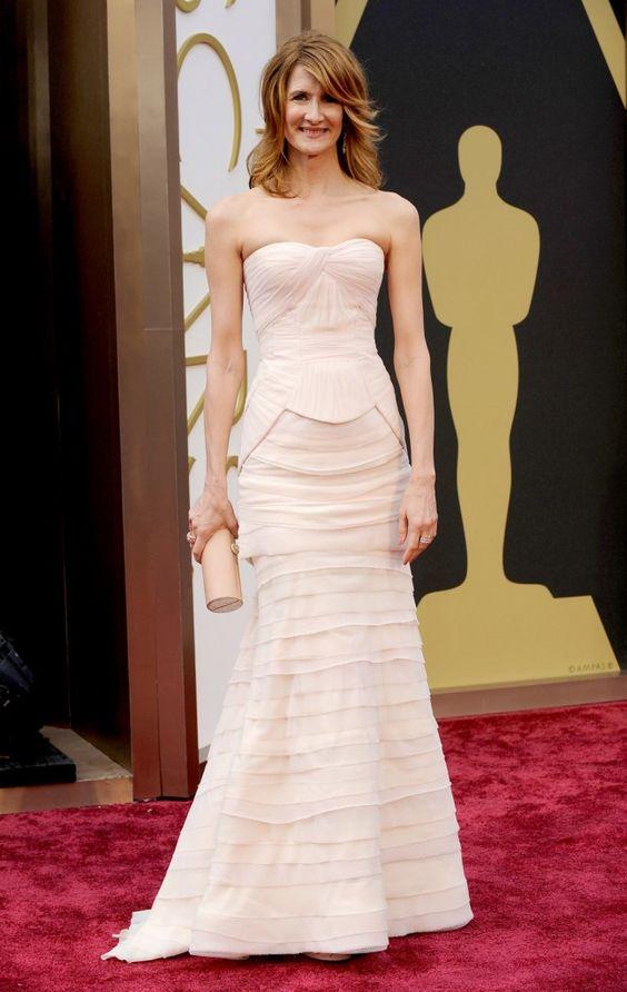 Laura Dern in Alberta Ferretti   Academy Awards 2014