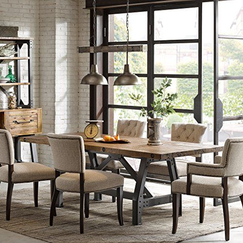 Inkivy Lancaster Dining Table Amber See Below Ink Ivy Https Www Amazon Com Dp B0192w7 Lancaster Dining Table Dining Room Furniture Sets Dining Room Furniture