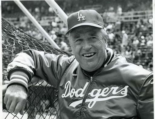 Walter Alston Who Was In His 20th Year As Dodger Manager Dodgers Baseball La Dodgers Los Angeles Dodgers