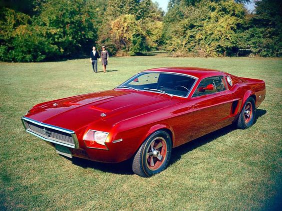 60s Ford Mustang Concept
