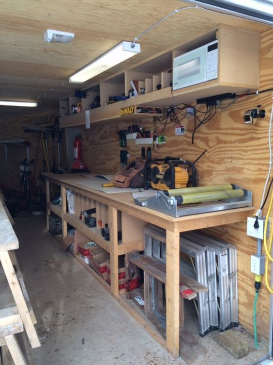 106104d1389640013 job site trailers show off your set ups for Rv workshop