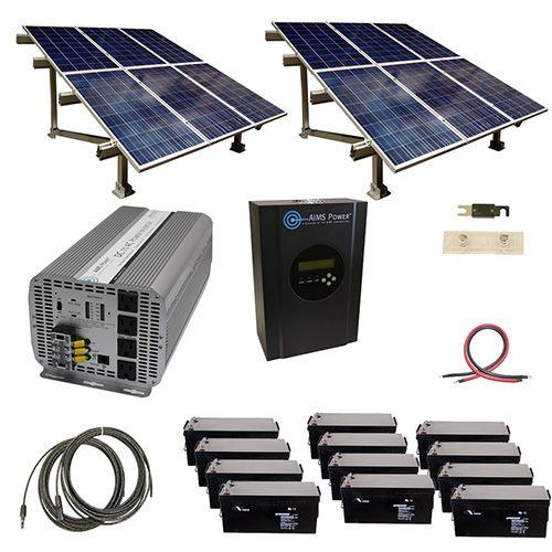 Aims Power Kita 5k48120 C2 Invertersupply Com Solar Kit Solar Panels Solar Energy Panels