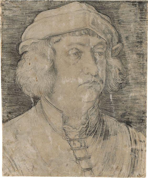 Albrecht Dürer (1471–1528)  Portrait of Kaspar Nützel, 1517  Inv. 13 Z  © Staatliche Graphische Sammlung München