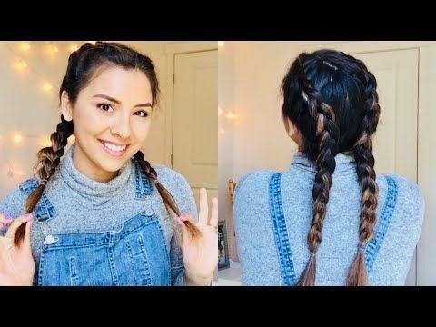 How To Dutch Braid Your Own Hair For Beginners Talk Through Amp