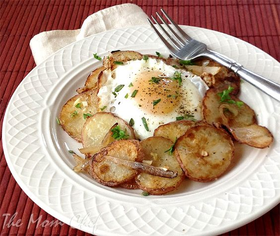 Potato Coins with Fried Eggs from Cooking Light's Real Family Food ...