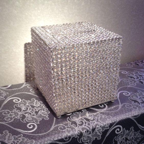 Bling Card Box 3 WEDDINGS Card boxes Pinterest – Bling Wedding Card Box