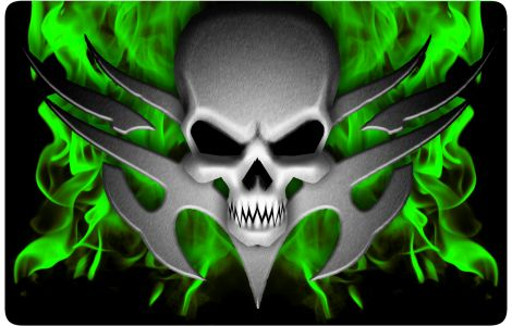 Cool Skull | Cool Green Skull Wallpapers | skulls ...