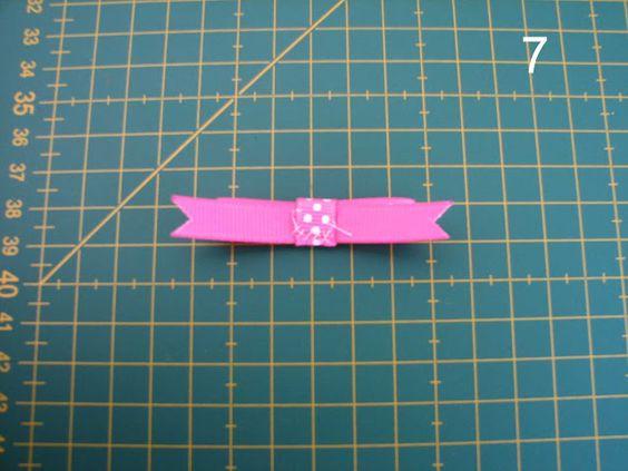 Deshilachado: Tutoriales lazos/Bows' tutorials