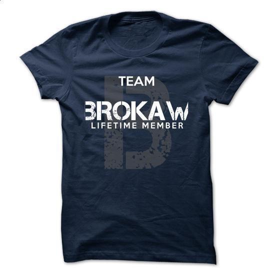 BROKAW - TEAM BROKAW LIFE TIME MEMBER LEGEND - wholesale t shirts #clothing #girl hoodies