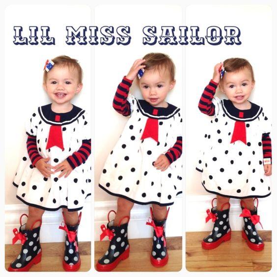 CUTENESS AHOY..... Kandeeland: Lil Miss Sailor
