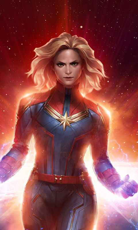 Marvel Future Fight Captain Marvel Wallpaper For Iphone And 4k For Laptop Download Now For Free In 2020 Captain Marvel Marvel Future Fight Captain Marvel Carol Danvers