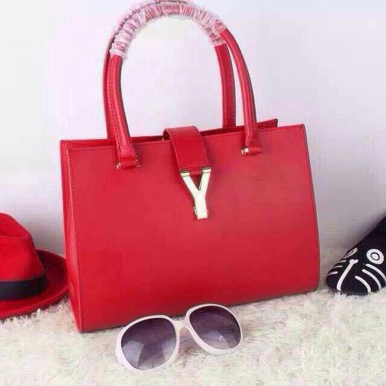 cabas chyc large leather tote - 2015 Saint Laurent Runway Collection Outlet - YSL Top Handle Bag ...