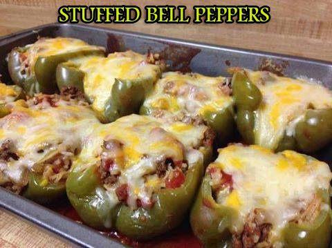 Stuffed Bell Peppers Stuffed Peppers Bell Pepper Recipes Recipes