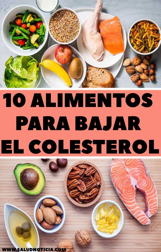 recetas de comidas saludables para bajar el colesterol