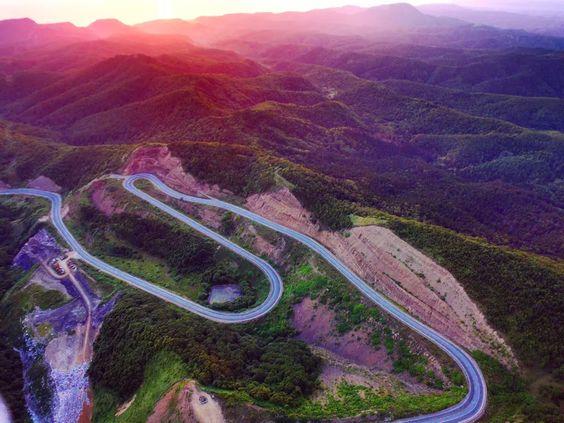 Холмский перевал в закате