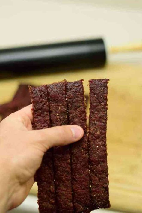 Midwest Ground Beef Jerky Recipe Jerky Recipes Ground Beef Jerky Recipe Beef Jerky Recipes