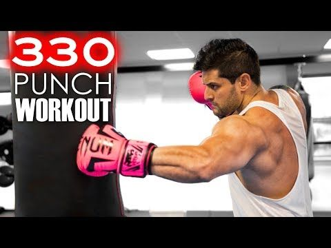 330 Punch Workout Challenge Build Muscle Speed Power Heavy Bag Combos Lex Fitness Youtub Workout Challenge Boxing Workout Fitness Motivation Videos