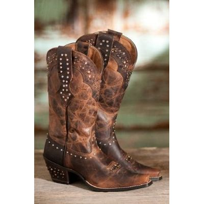 cowgirl boots - Google Search | My boots | Pinterest | Brown boots ...