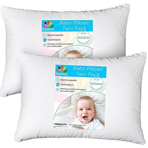 2 pack equinox baby toddler pillow set